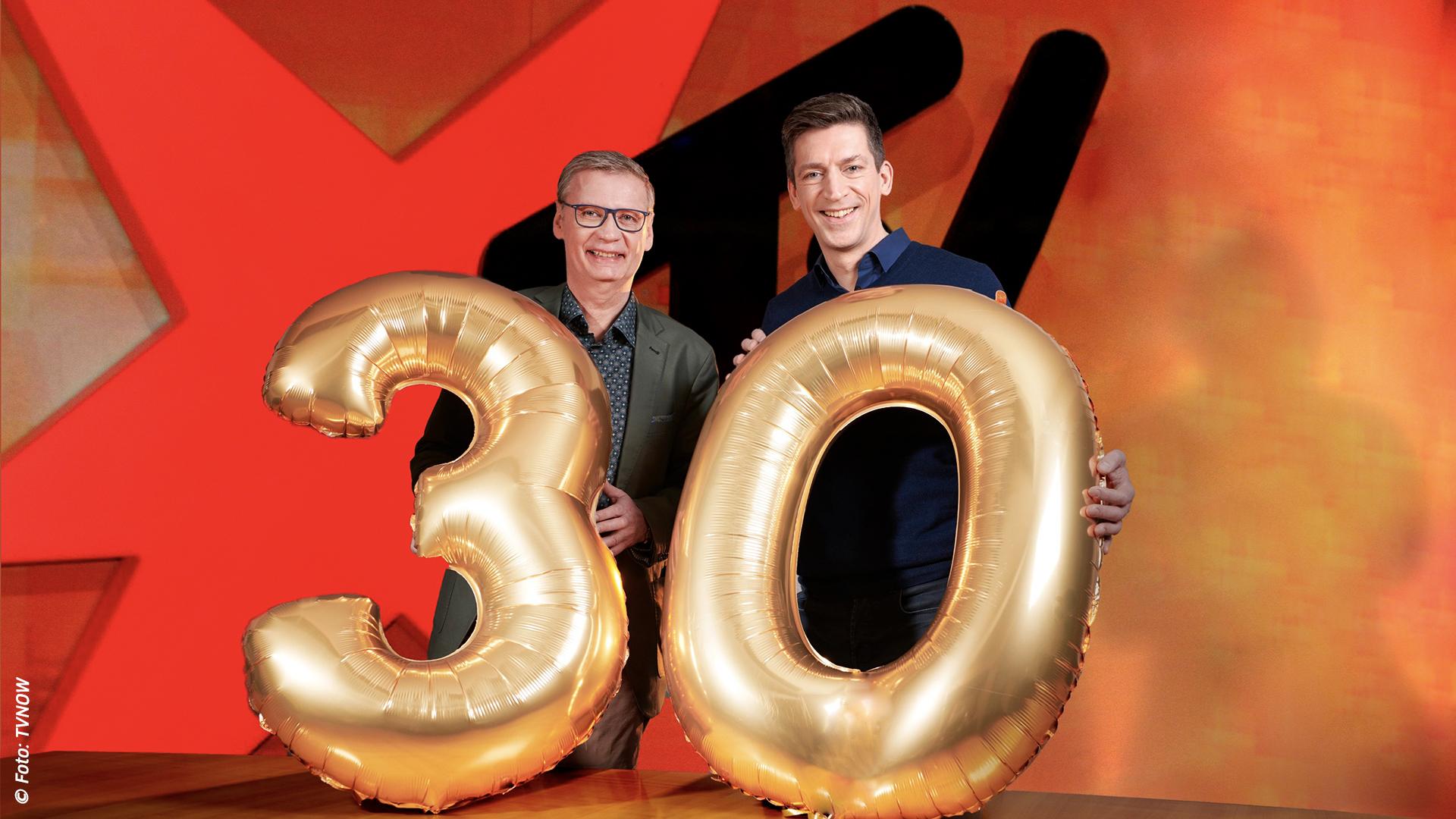 Die große Jubiläumssendung zum 30. Geburtstag | stern TV