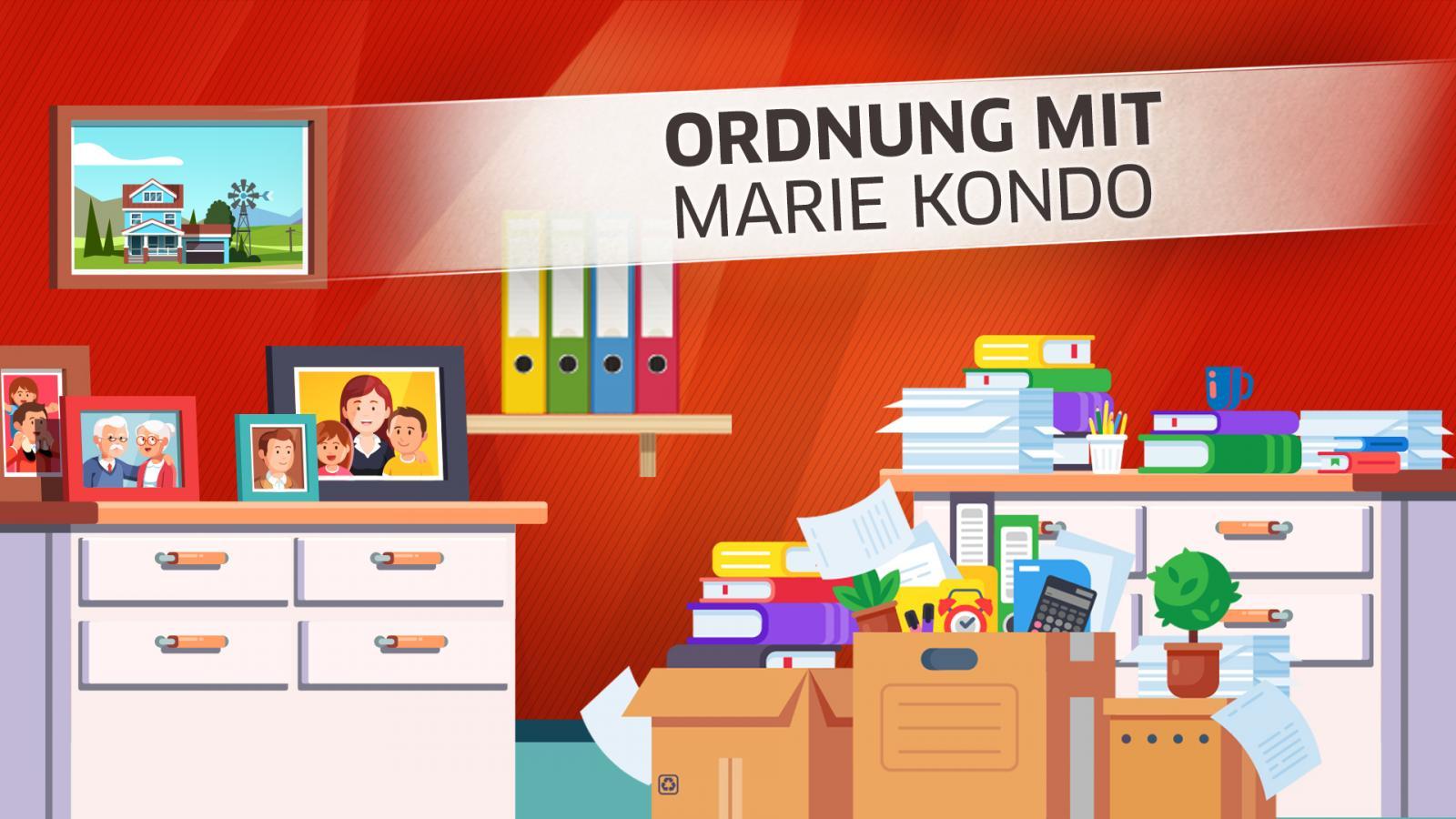 Küche, Keller, Kinderzimmer: Lässt sich wirklich alles nach Marie ...